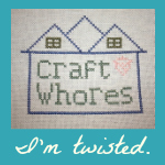 Craft Whores Twisted Badge