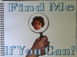 title page of find me if you can