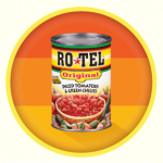 RO*TEL original tomatoes and green chilis
