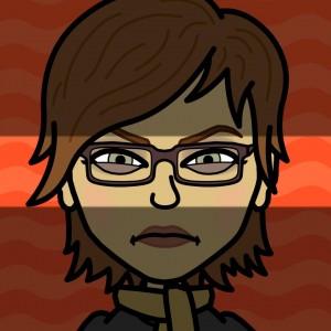 Leslie The Bearded Iris as a fed-up cartoon wife via Bitstrips on Facebook