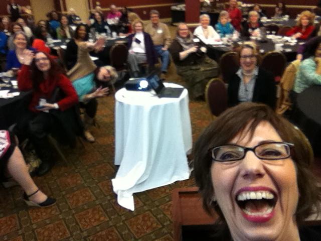 Keynote selfie at the GRW meeting