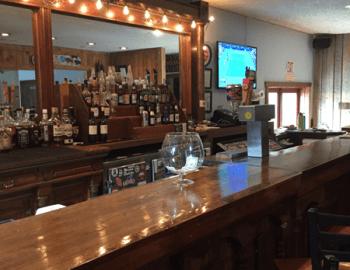 Adolph's bar interior.