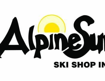 Alpine Sun Ski Shop logo.