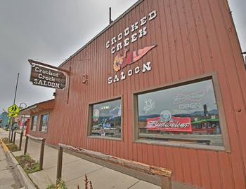 Crooked Creek Saloon exterior.