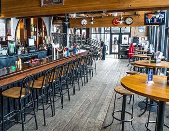 Derailer bar interior.