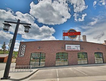 The Foundry Cinema & Bowl exterior.