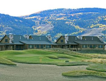 Grand Elk Golf Course and Club House buildings.