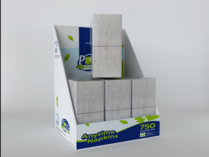 Potty Products Anytime Napkins Display