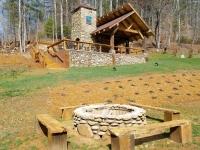Pavilion-Firepit
