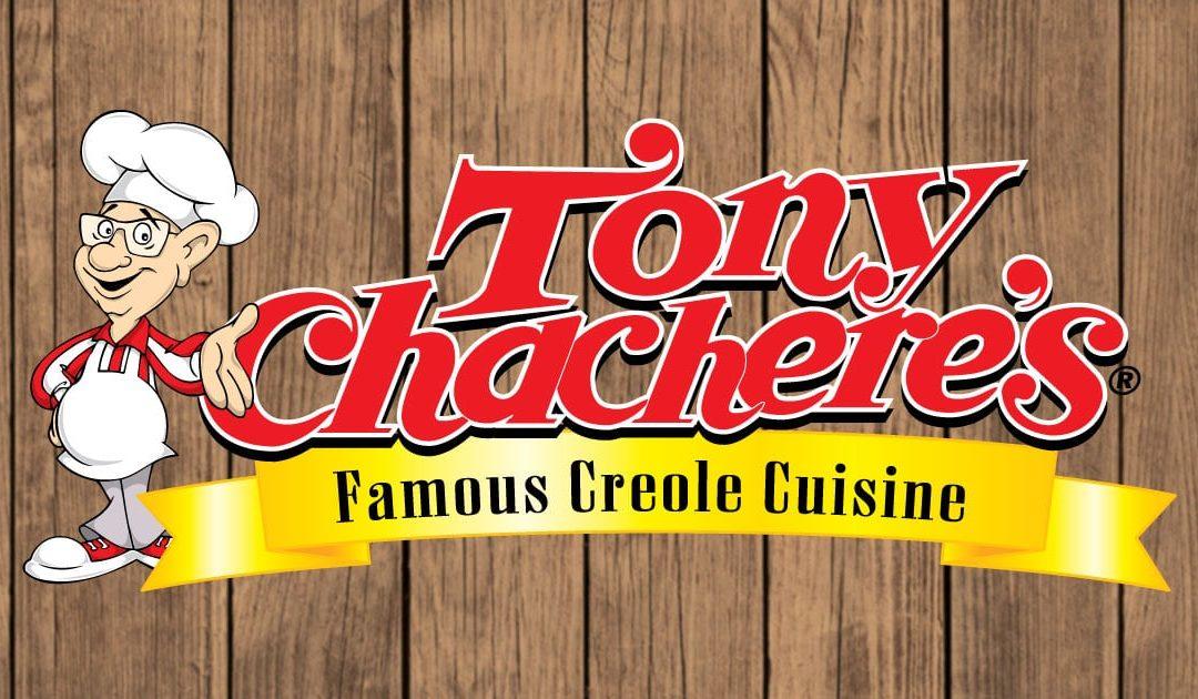 Tony Chachere's on board as Gumbo Sponsor