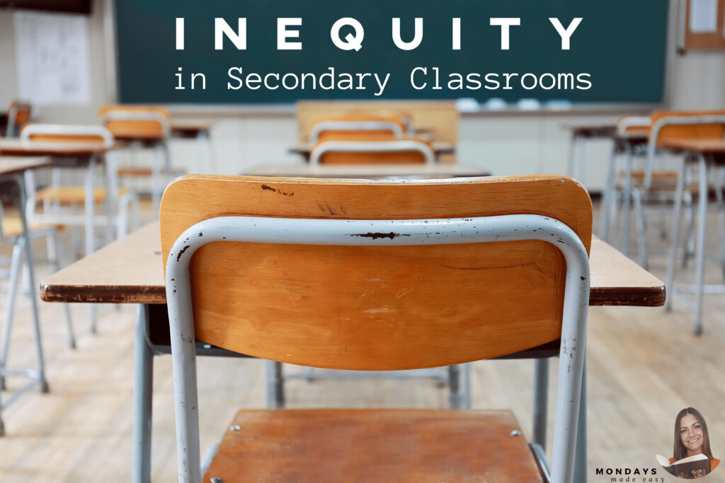 Equity in the Secondary Classroom: why schools are considered colonial institutions, and how to improve your practice to promote equity in curriculum.