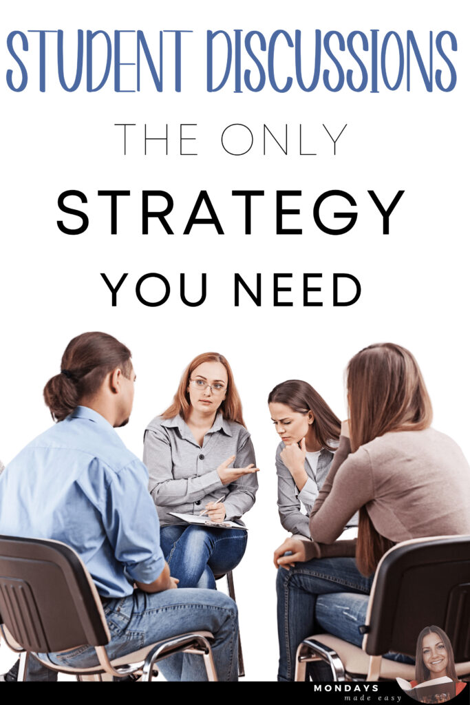 Student Discussions: The Only Strategy You Need