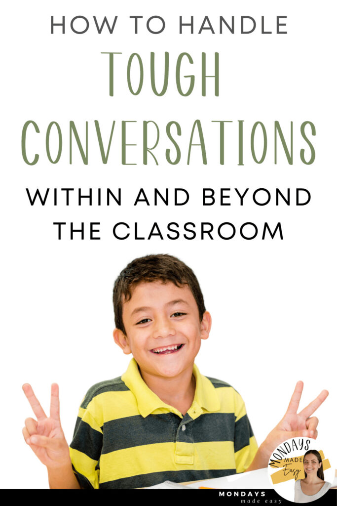 Conflict Management for Kids: How to Handle Tough Conversations and Classroom Conflict