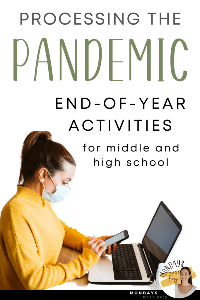 These SEL activities and End-of-Year ideas will support your students in reflecting on a year of the COVID-19 pandemic while they learn to manage anxiety and cope with grief.