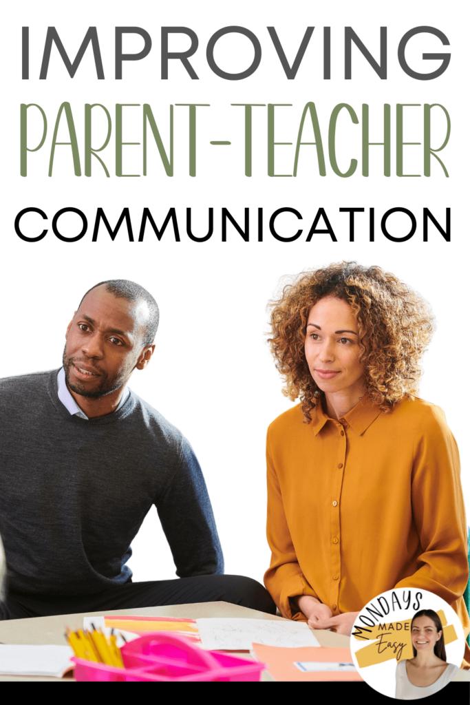 Improving Parent-Teacher Communication in High School