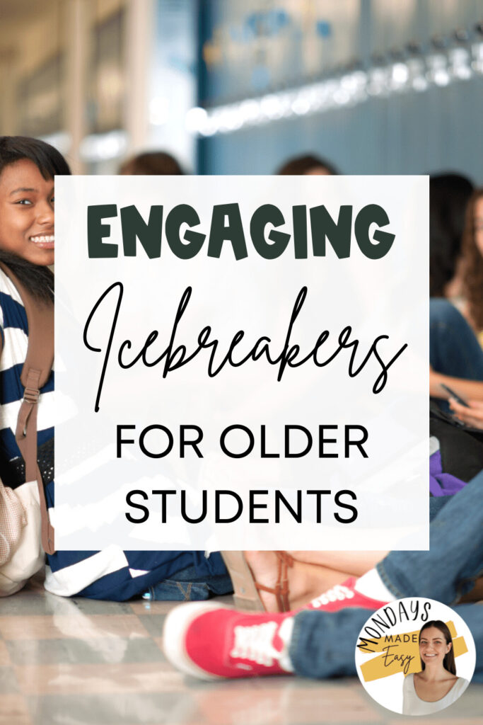 Engaging Icebreakers for Older Students