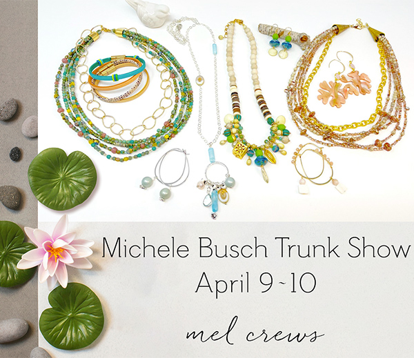 Michele Busch Trunk Show at Mel Crews