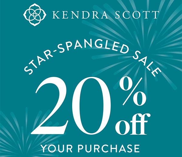 Celebrate and Save with Kendra Scott