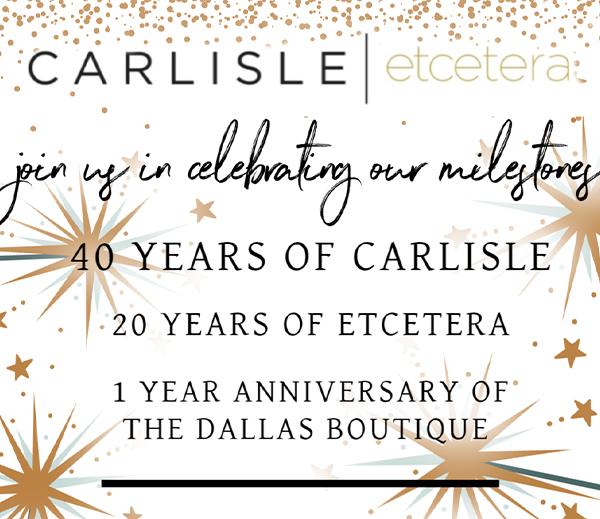 Carlisle Etcetera Milestone Celebrations