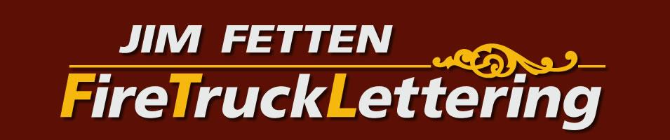 Fire Truck Lettering Logo