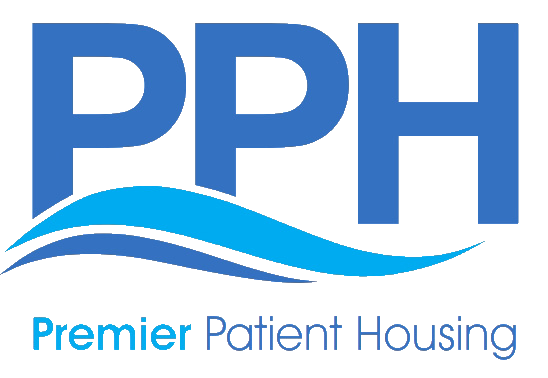 Premier Patient Housing PNG Logo, With Name tag
