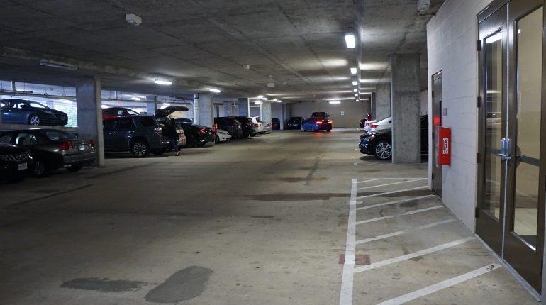 District 28, Parking Garage from Premier Patient Housing