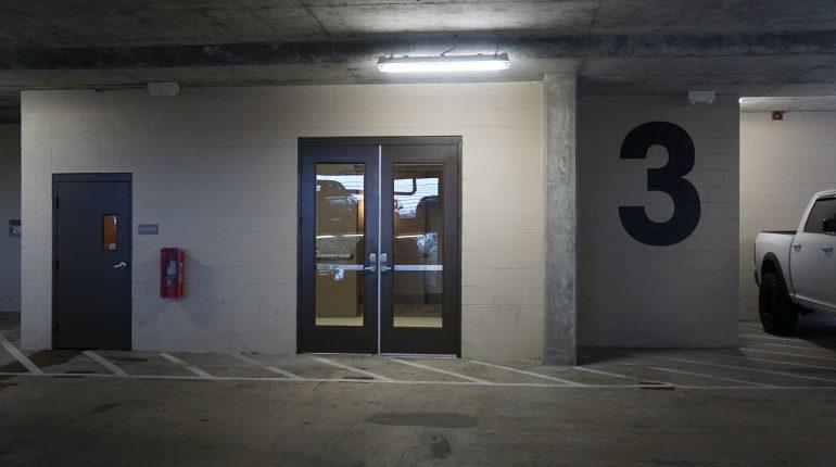 District 28, Parking Garage from Premier Patient Housing.