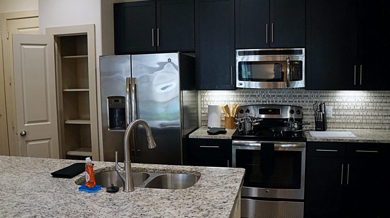 Kitchen from the Alabama Design at Premier Patient Housing.