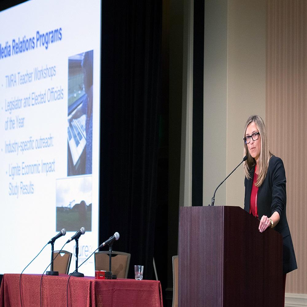 Jeannine Wheeler At TMRA Meeting