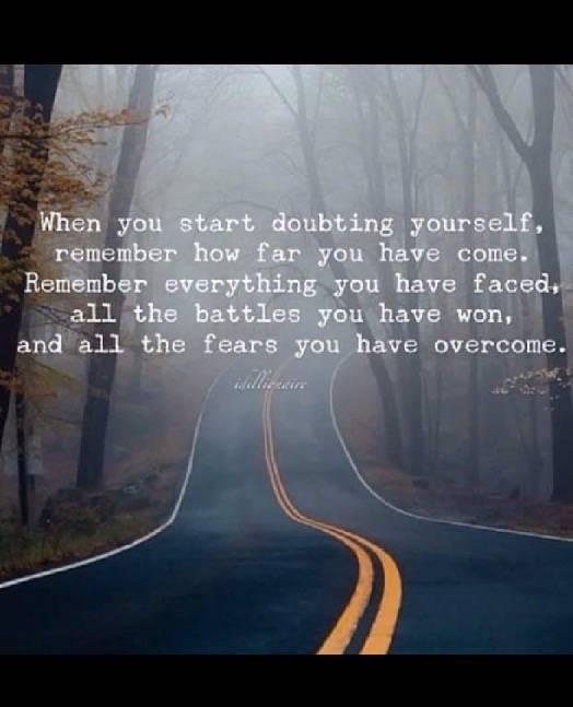Doubting Yourself?