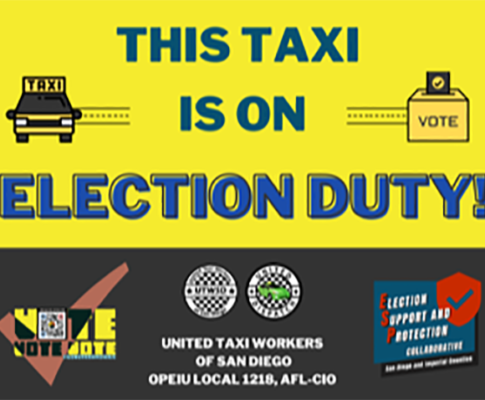 Election Day Free Taxi-Rides