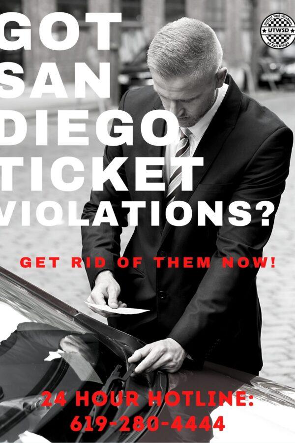 UTWSD of San Diego Parking Violation Service