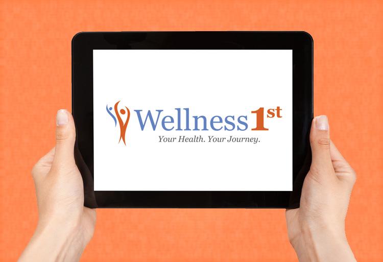 Wellness1st original logo design