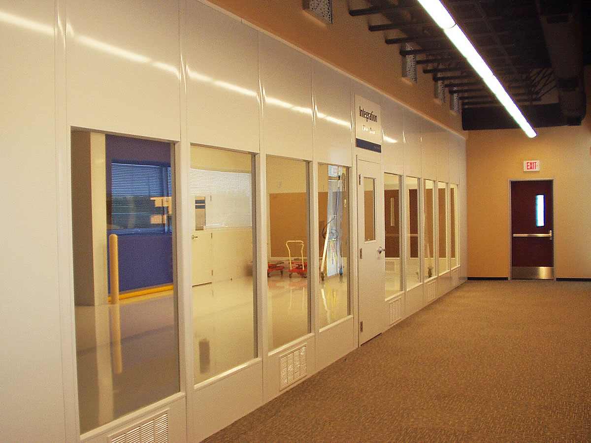 Hardwall cleanroom