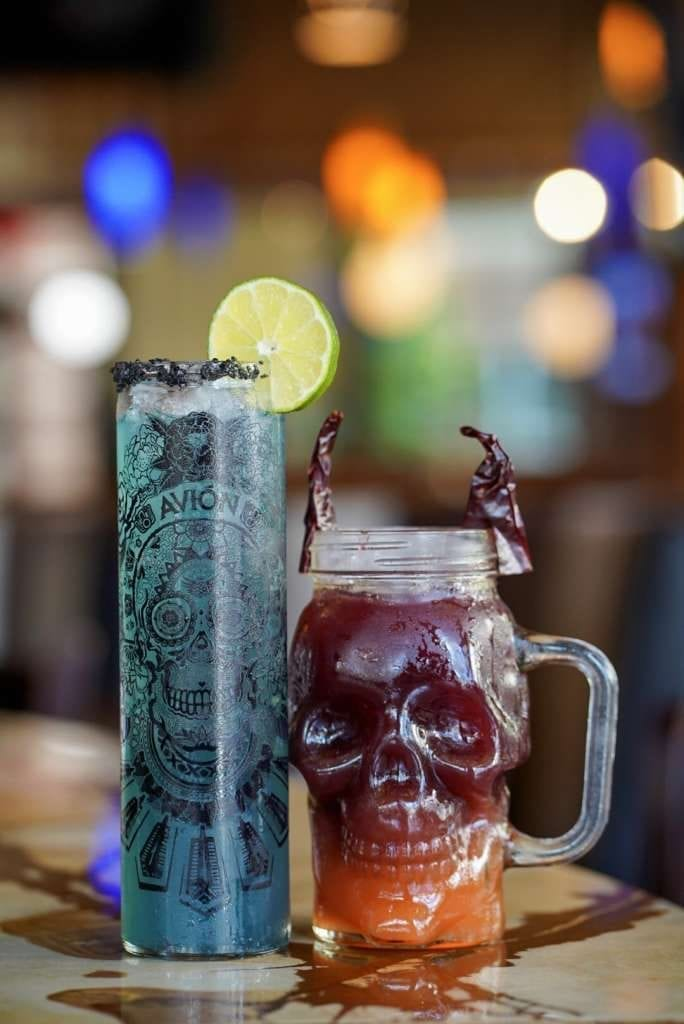 Fright night cocktails