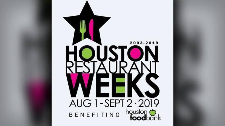Houston Restaurant Weeks 2019