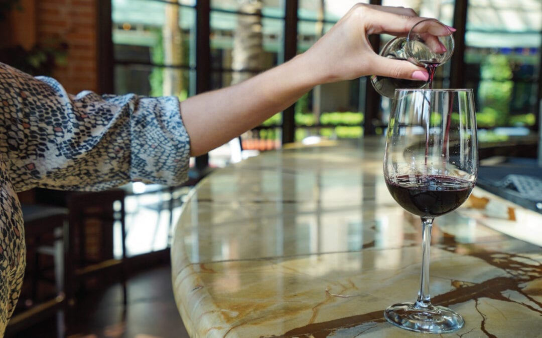 Enjoy 1/2 Priced Bottles of Wine Every Monday & Tuesday