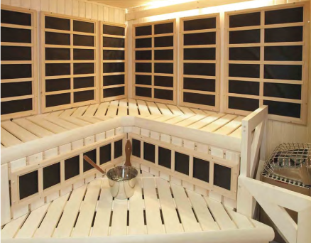 CUSTOM INFRARED- CUSTOM DESIGN SAUNAS