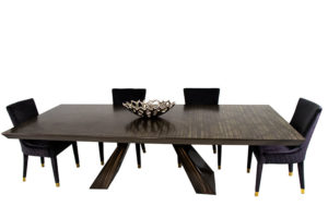 Nice Metal Table To Incorporate Feng Shui In Your Home