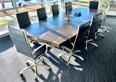 Conference table w/ power unit 1