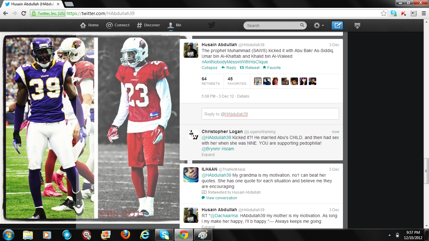 NFL's Muslim brothers 1