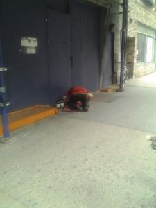 Ramadan Street Prayer 1