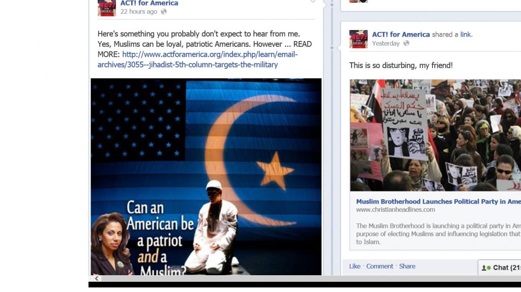 ACT! Loyal Muslim Americans