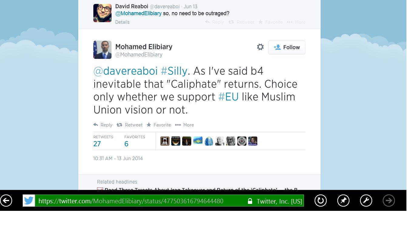 Homeland Sec Caliphate