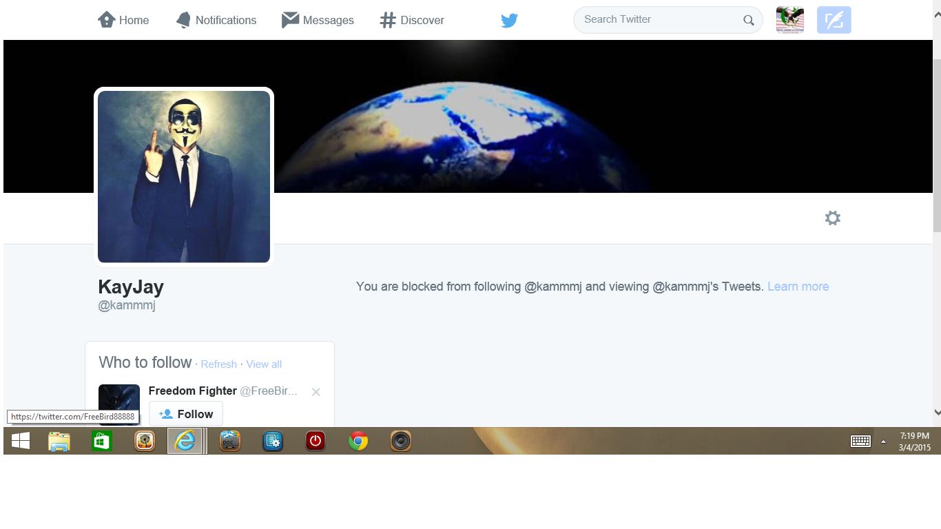 Blocked by 2 KayJay