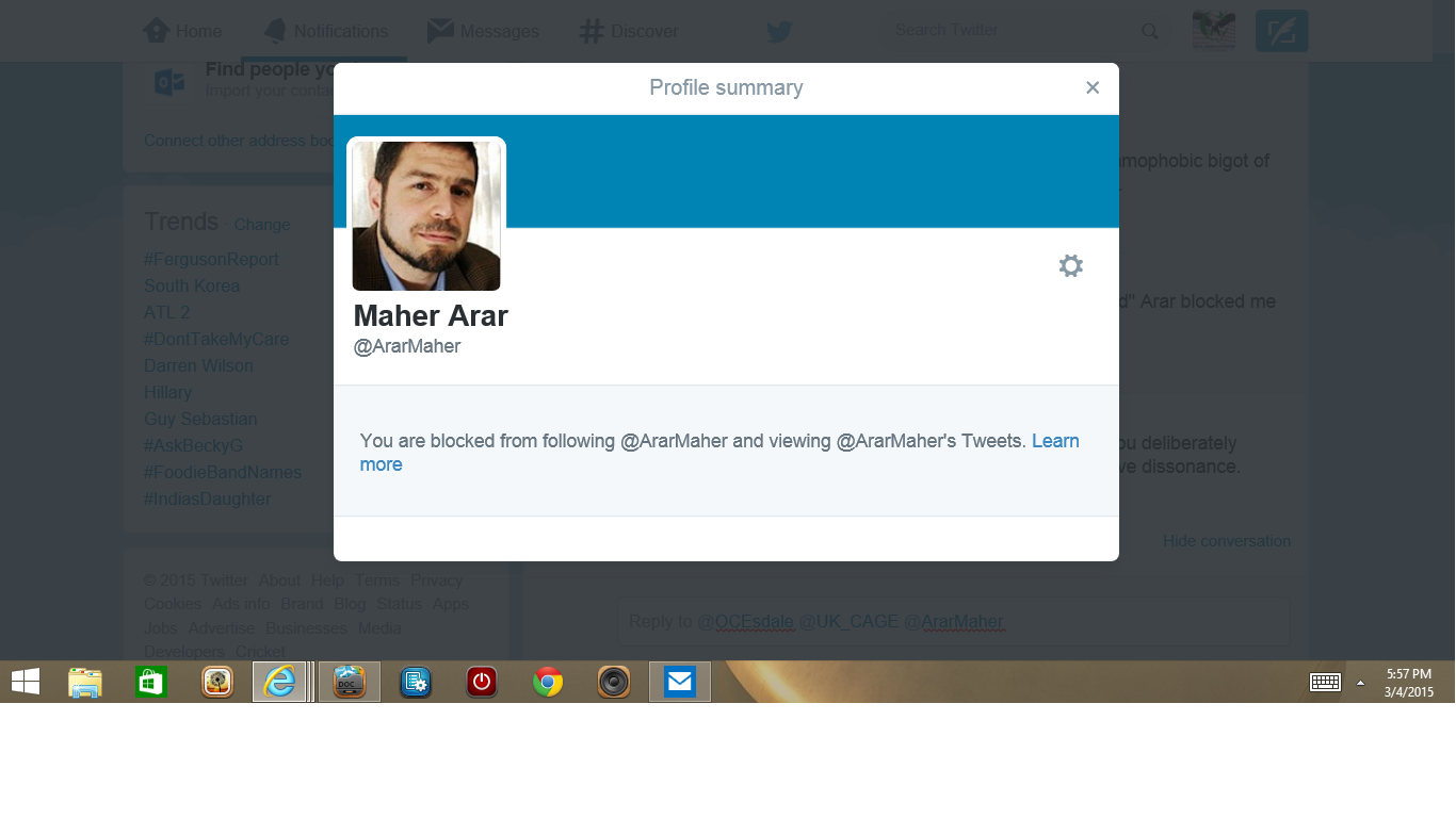 Blocked by 2 Maher