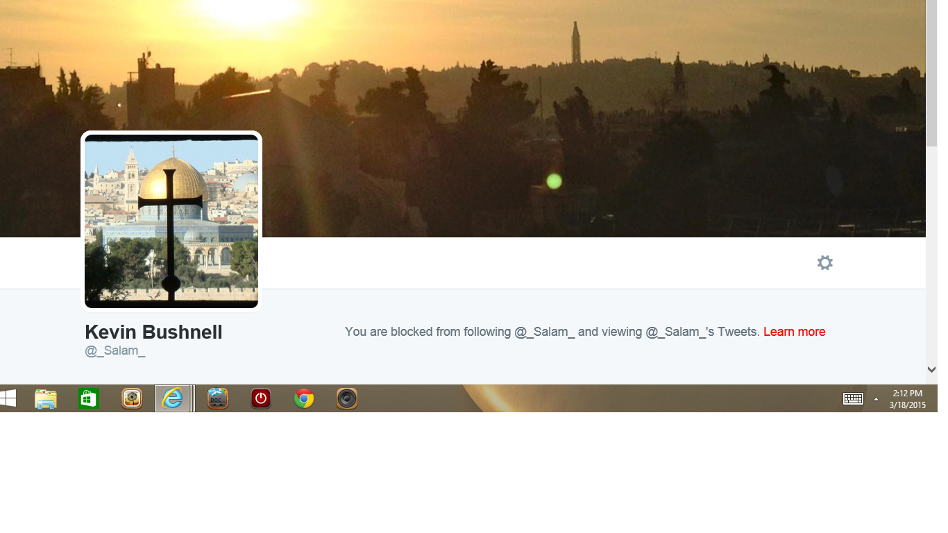 Blocked by 3 Kevin Bushnell