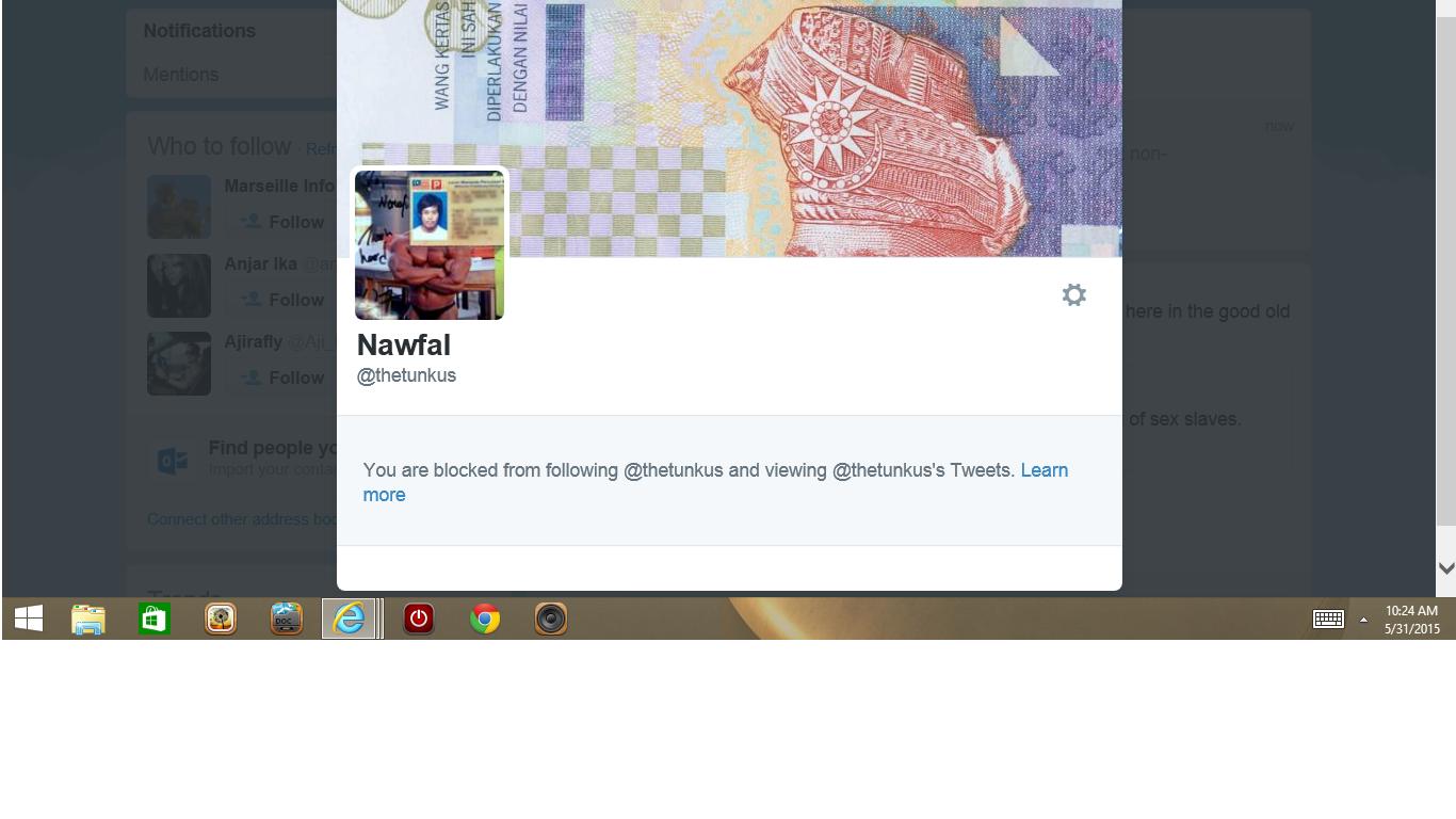 Blocked by 3 Nawfal