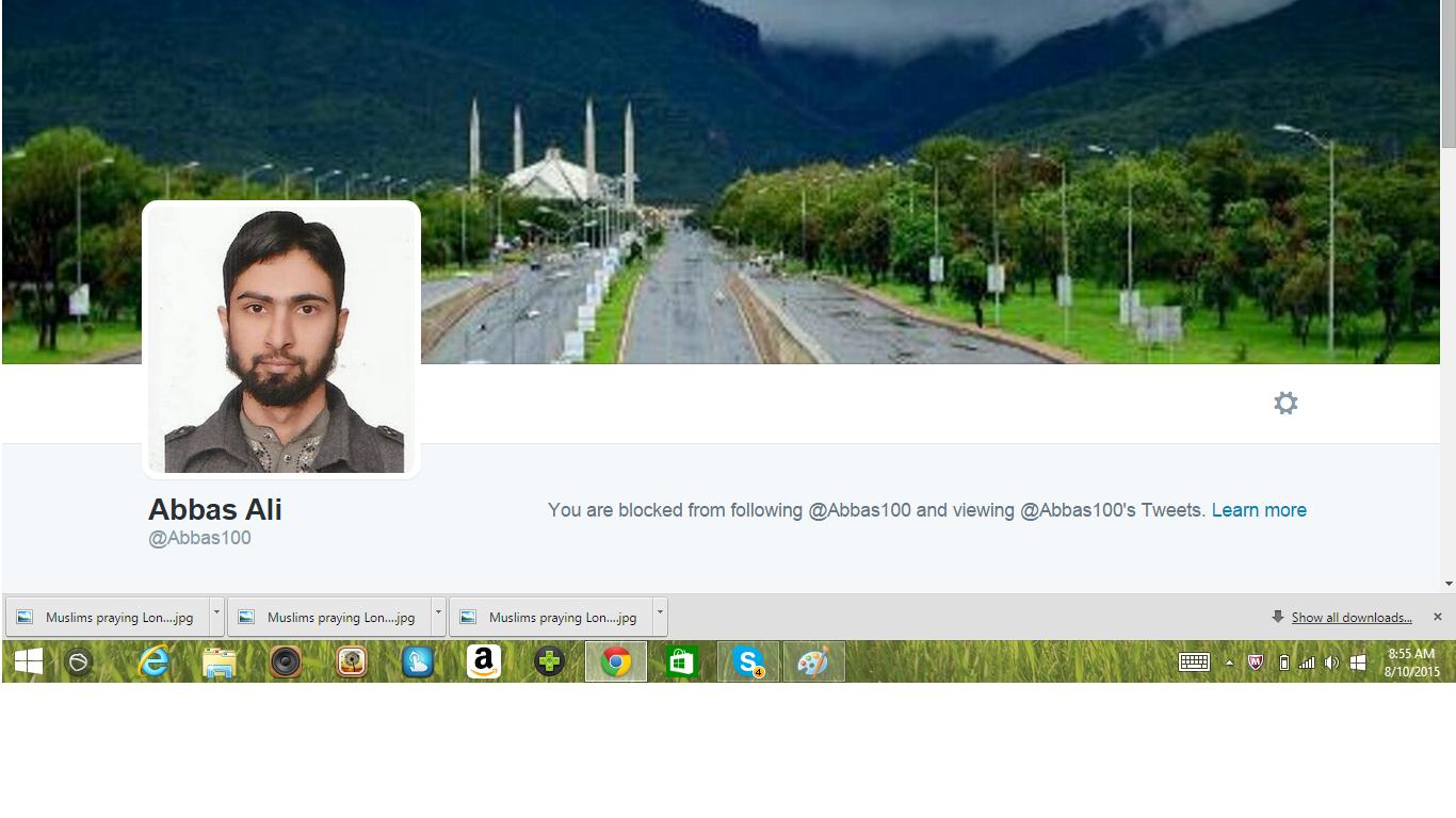 Blocked by 5 Abbas Ali
