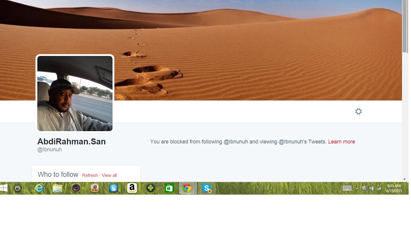 Blocked by 5 AbdiRahma.San